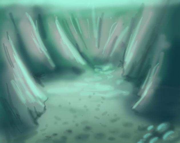 Underwater Chasm