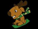 Toboggan Reindeer